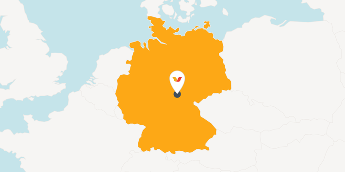 Storck location in Ohrdruf, Thuringia
