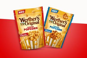 2018 Launch of Werther's Orginal Caramel Popcorn in Germany